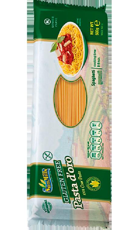 PASTA D'ORO gluténmentes spaghetti 500g