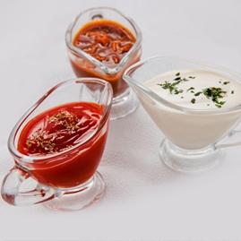 Majonéz - Mustár - Ketchup - Saláta